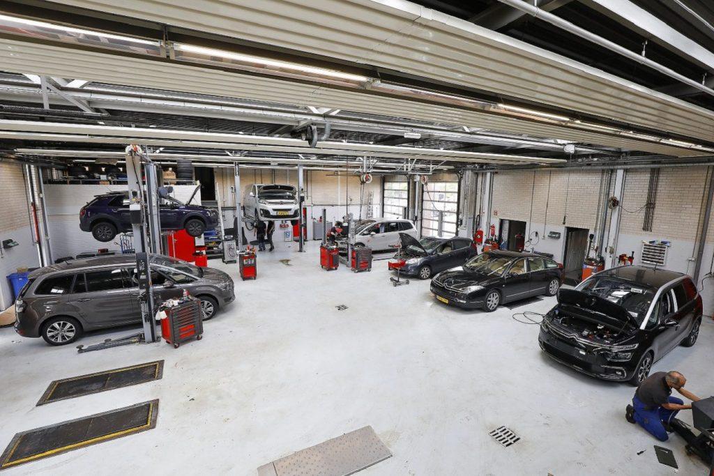 Werkplaats Nieuwegein Damste Auto